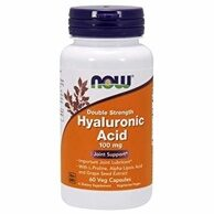 NOW Hyaluronic Acid 100 мг - 60 капсул