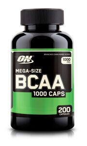 ON BCAA 1000 – 200 caps.