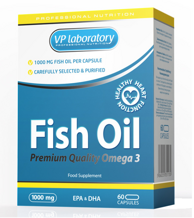 VPLab Fish Oil 1000мг